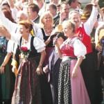 Wiesn Platzkonzert vor der Bavaria